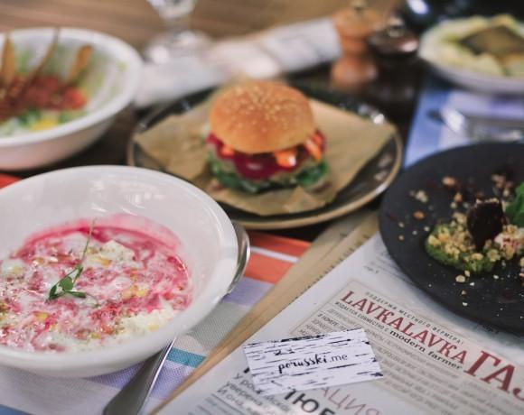 Место есть: блюда из фермерских продуктов. Обзор ресторана LavkaLavka