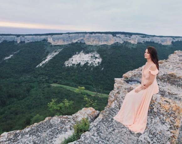 Крым. Пещерный город Мангуп-Кале