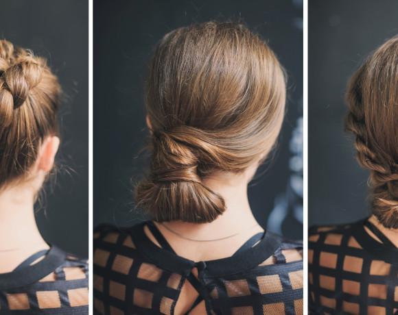 Как красиво собрать волосы этой осенью