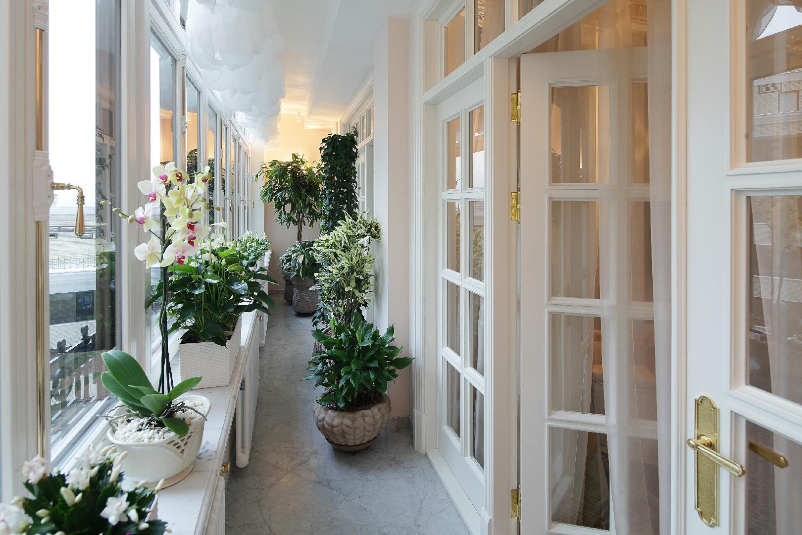 Оформление балкона. живой декор - porusski.me.