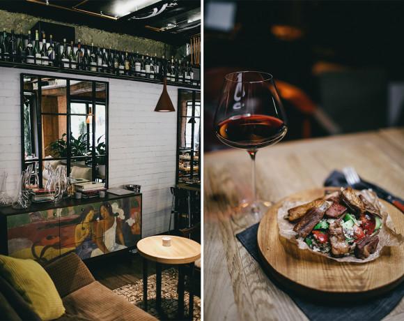 Место есть: насладиться вином. Обзор винного бара и ресторана Touché