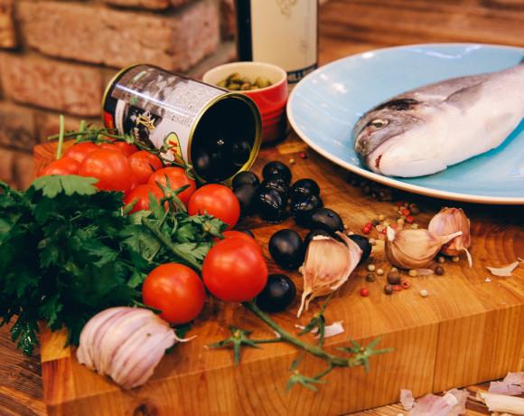 Кулинарные шедевры от шефа: дорадо по-лигурийски