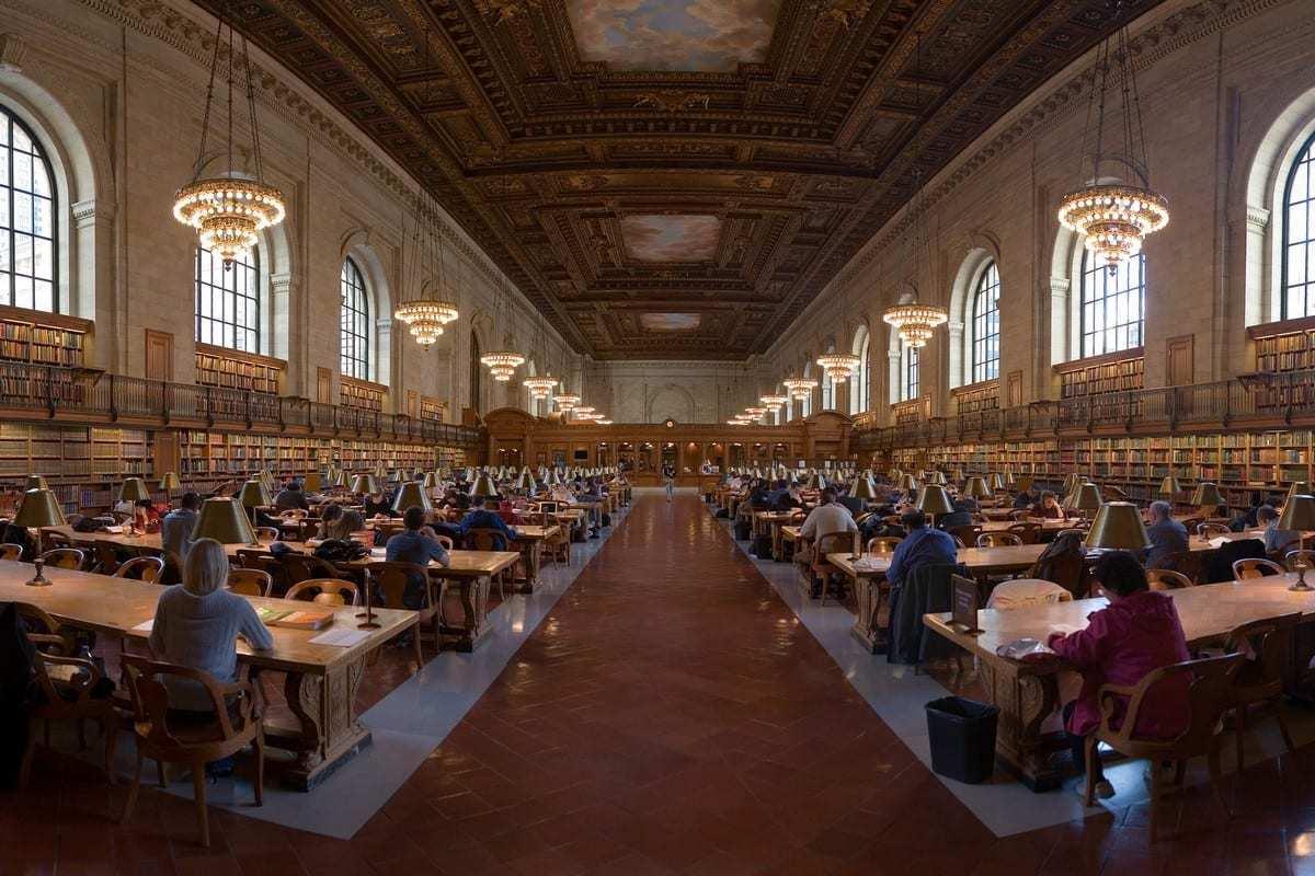 где в Москве спокойно почитать – библиотека