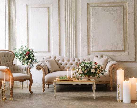 Мебель и декор для свадьбы: что можно и нужно брать в аренду