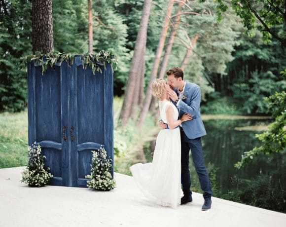 Свадьба на природе в стиле полотен Клода Моне