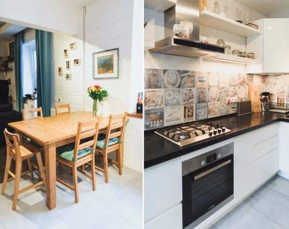 Перепланировка квартиры. Из 60-х в современный дизайн
