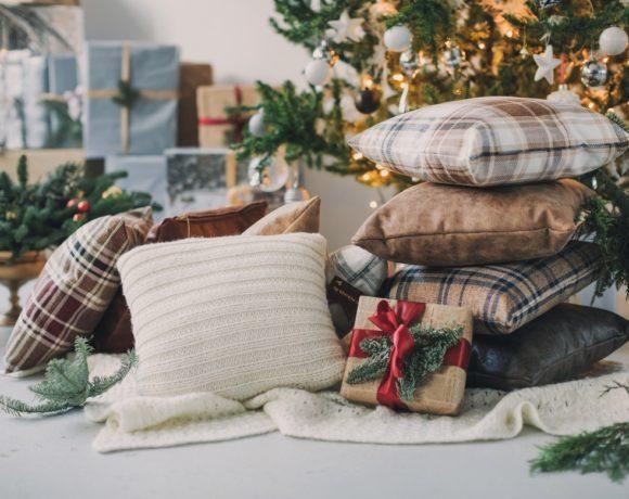 Декор. Подушки на Рождество