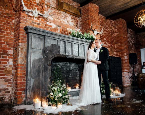 Легкое дыхание весны: нежная свадьба в лофте