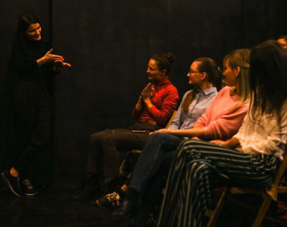 Театр, который открыт для ваших историй. Интервью с Евгенией Гринько и Евгением Нива, Playback-театр «Открыто»