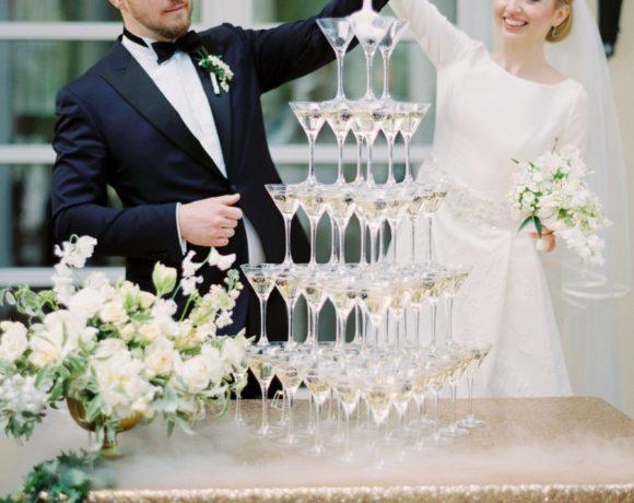 Весенняя свадьба в стиле благородной классики